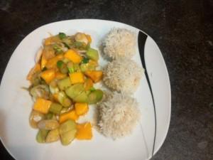 Garnelen-Reis-Bällchen