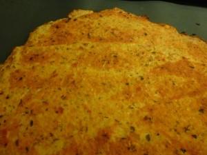 Pizzaboden aus Blumenkohl